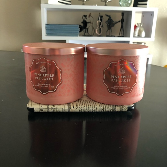 Bath and body work 3-wick candle